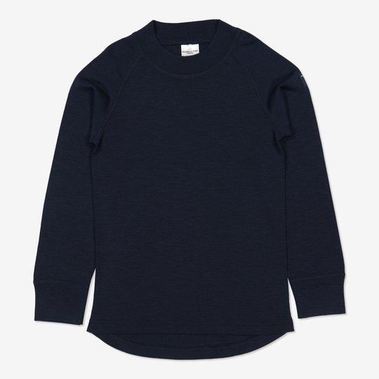 Merinoull trøye mørkblå
