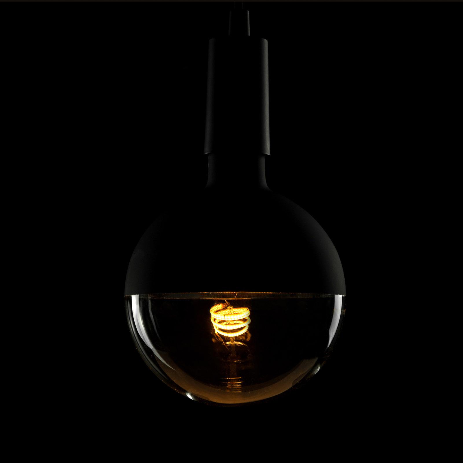 SEGULA LED-lamppu E27 8W G150 2 200 K himmennys