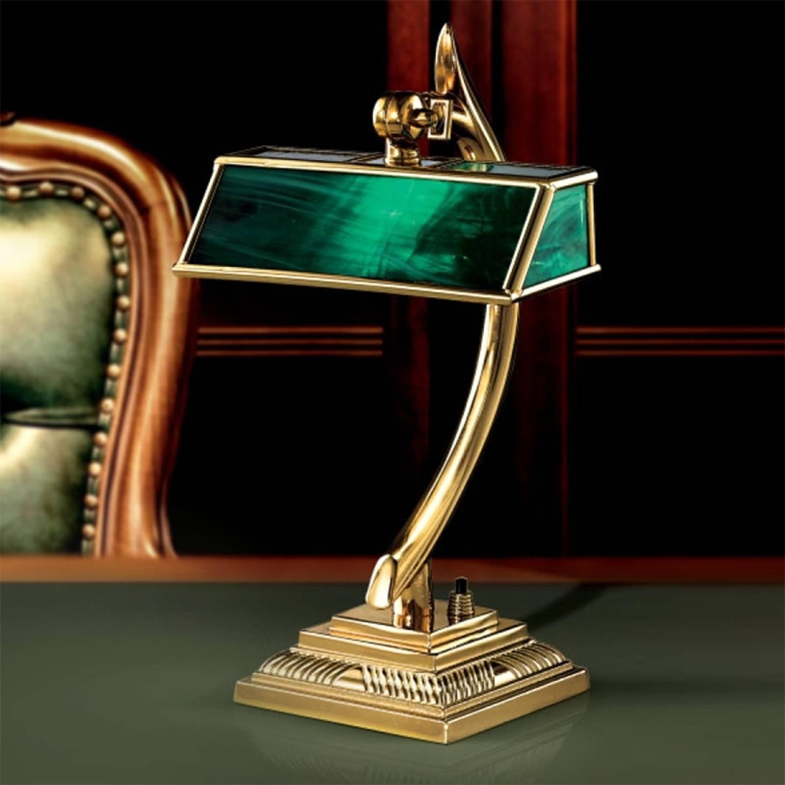Representativ Antiko bordlampe