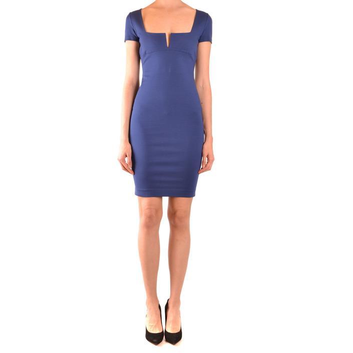 Dsquared Women's Dress Blue 167506 - blue M