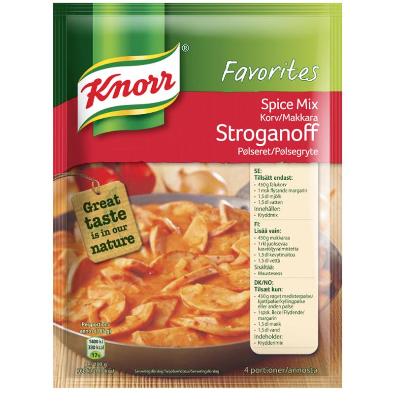 Kryddmix Korv Stroganoff 50g - 37% rabatt