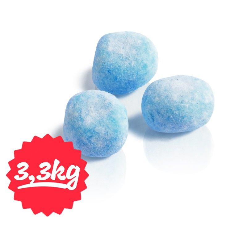 "Hel Låda Karameller ""Blue Raspberry"" 3250g - 67% rabatt"