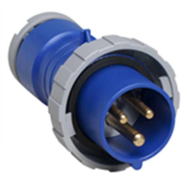 ABB 2CMA166722R1000 Pistotulppa IP67, 32 A, ruuvikiristin 3-napainen, sininen