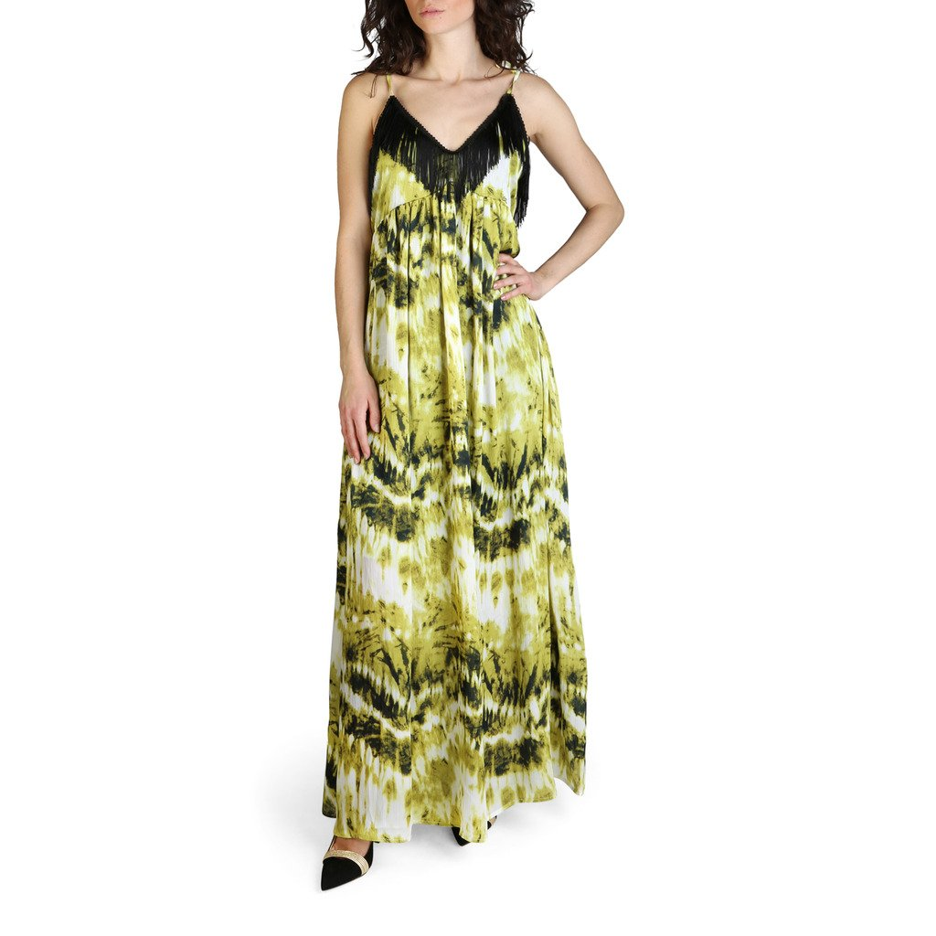 Yes Zee Women's Dress Green A411_HV00 - green XL