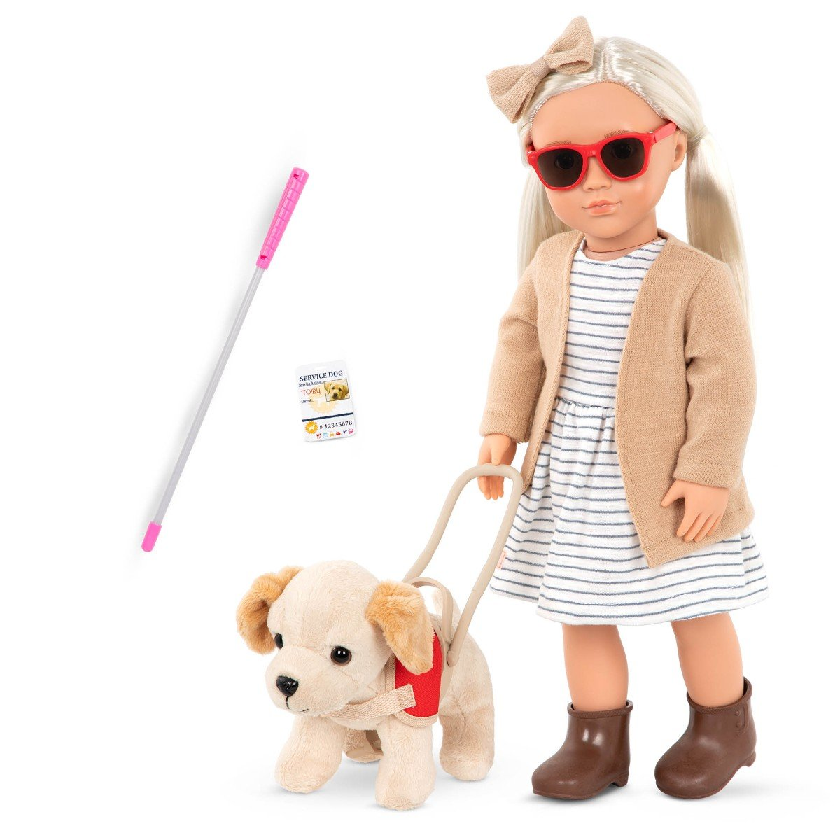 Our Generation - Marlow Doll With Pet Guide Dog (731321)
