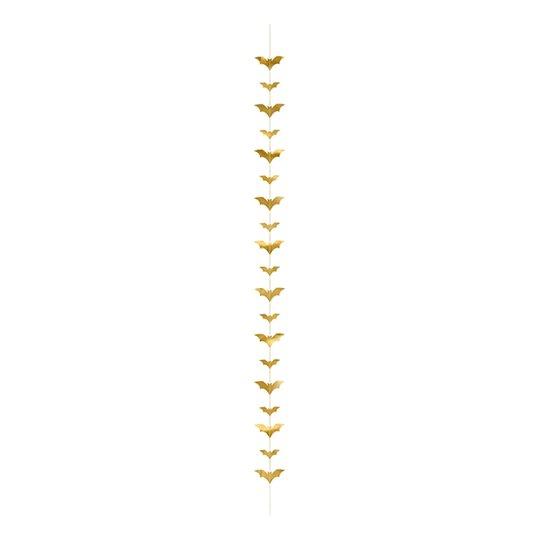 Girlang Guld med Fladdermöss