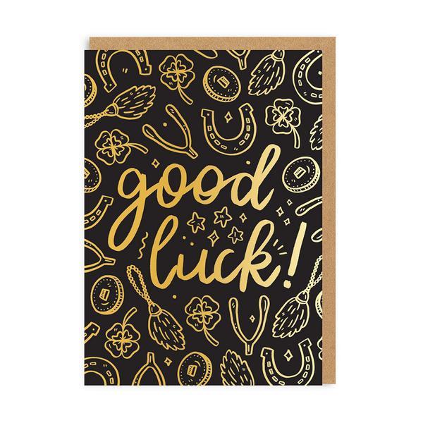 Good Luck Charms Greeting Card