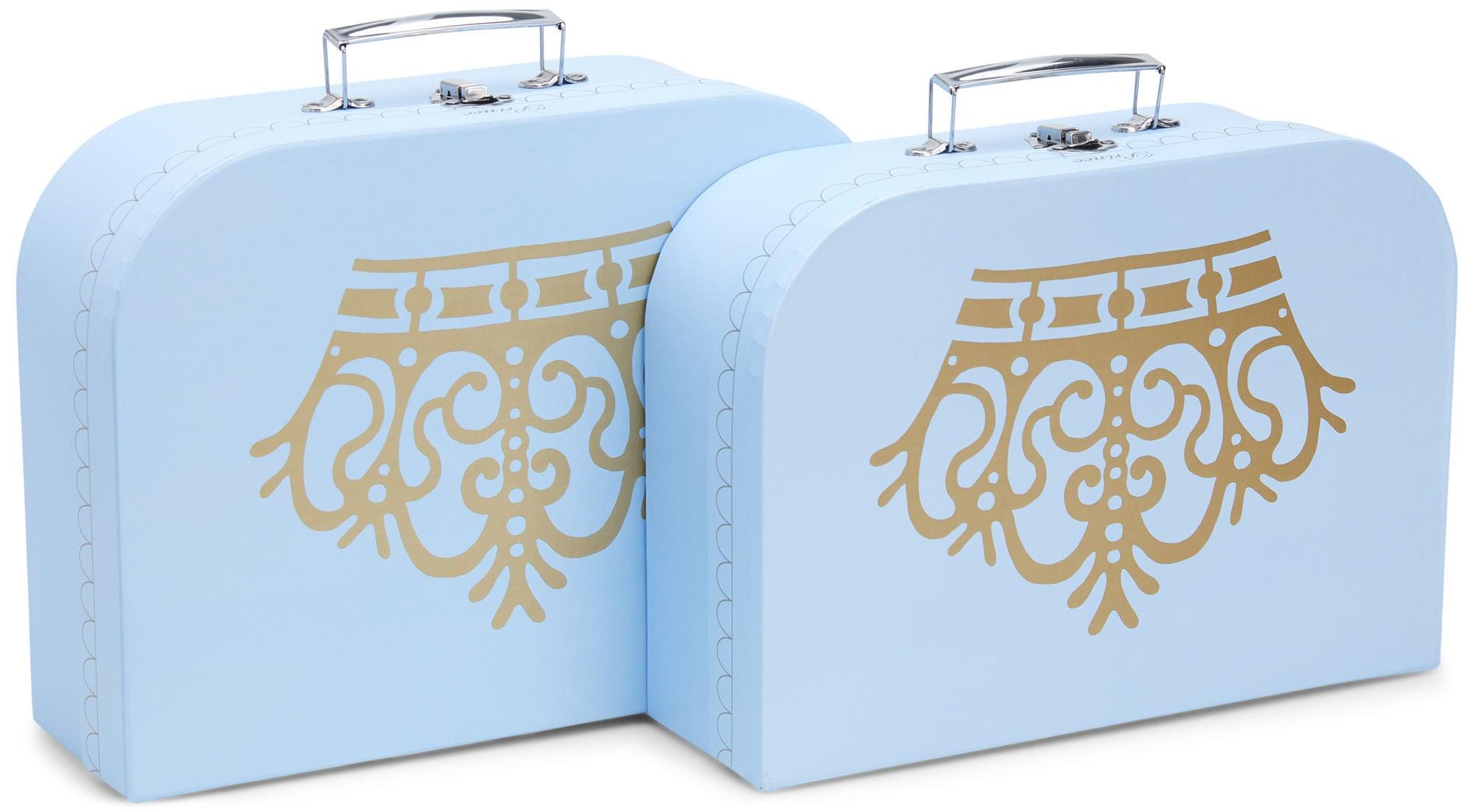 Cloudberry Castle Pahvilaukut 2-pack, Crown Blue
