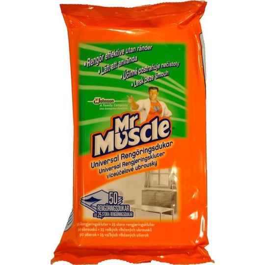 Mr Muscle Universal rengöringsdukar - 50% rabatt