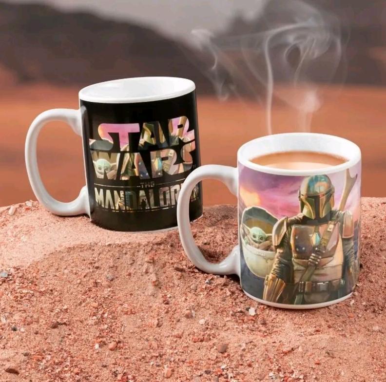 Star Wars - The Mandalorian Heat Change Mug (PP7367MAN)