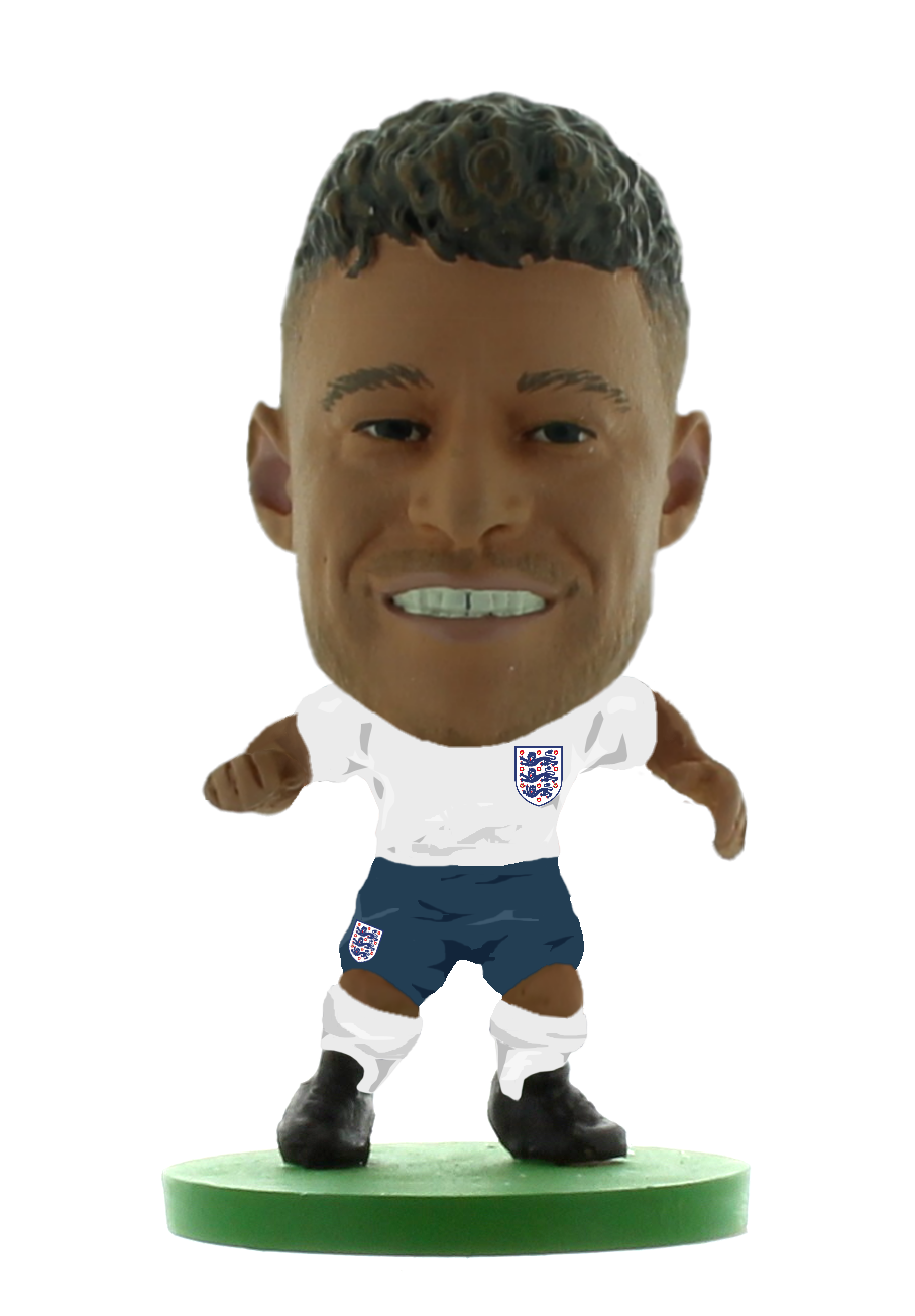 Soccerstarz - England Alex Oxlade Chamberlain (NEW SCULPT) (New Kit)