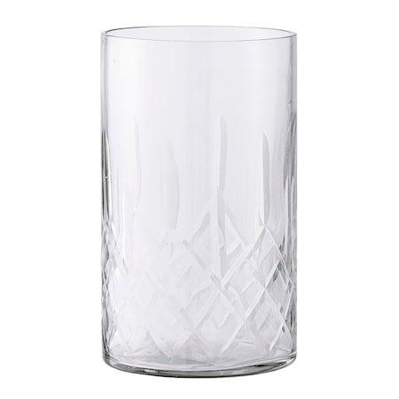 Lyslykt Klar Glass 10x17 cm