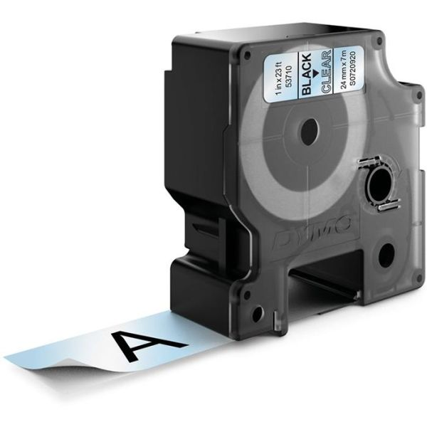 DYMO Standard D1 Teip 24mm Svart på transparent