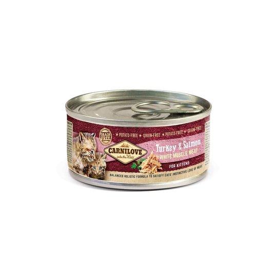 Carnilove Kitten Turkey & Salmon 100 g