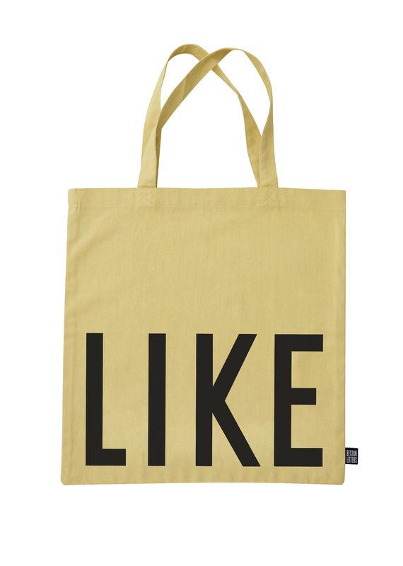 Design Letters - Farvorite Tote Bag - Like Fresh Yellow (10502001YELLOWLIKE)