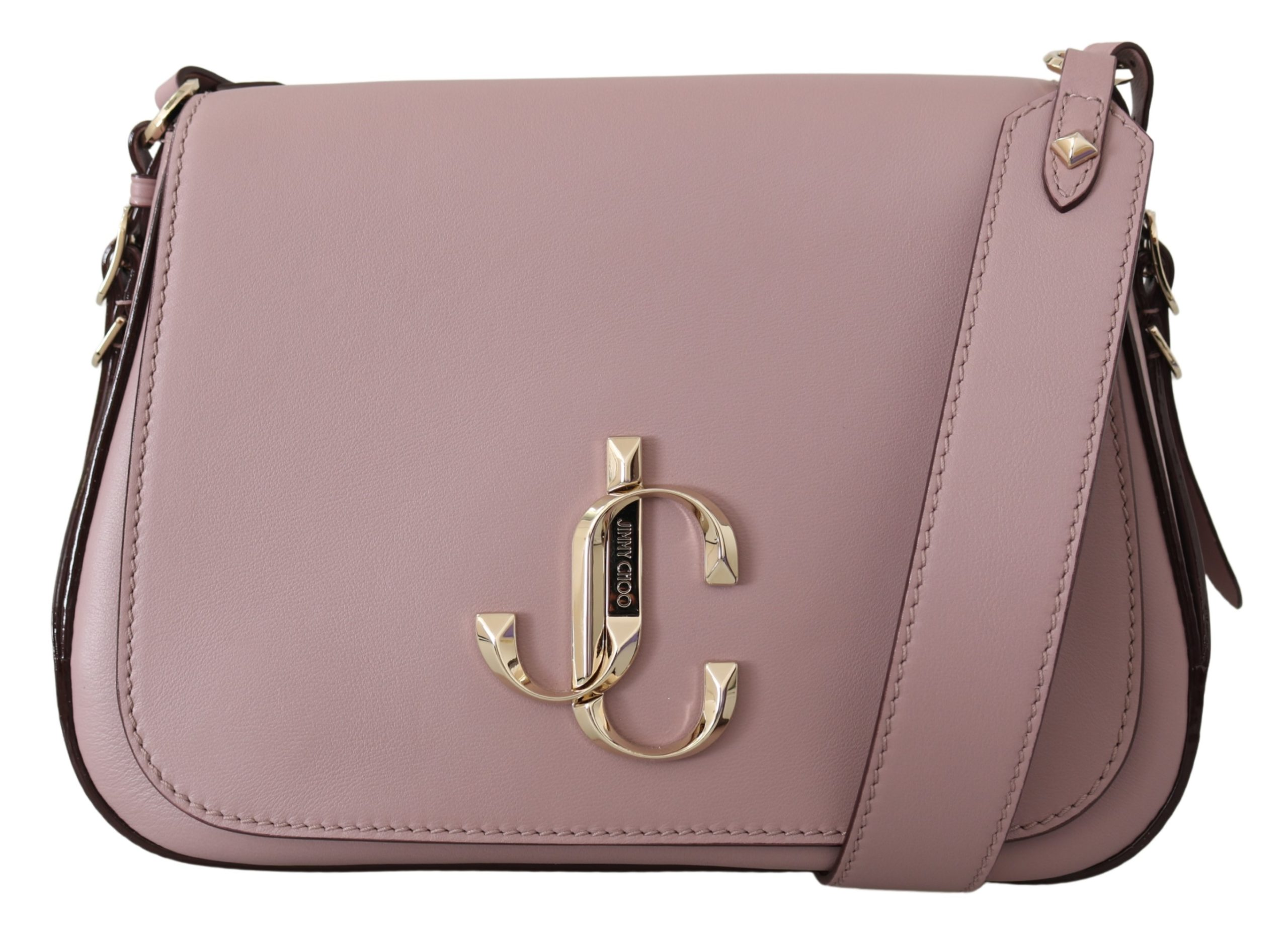 Jimmy Choo Women's Varenne Mauve Shoulder Bag Powder Pink 1436145