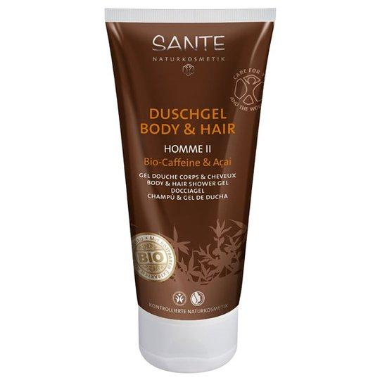 Sante Homme II Body & Hair Shower Gel, 200 ml