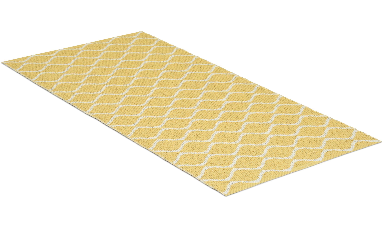 Wave gul - plastteppe