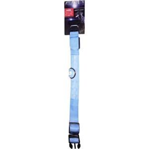 Hundhalsband Active Canis LED Medium, Svart/blå