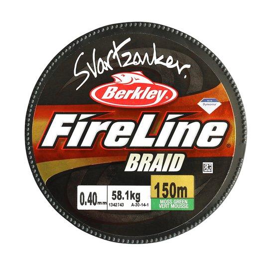 Berkley Fireline Svartzonker 1800 m flätlina