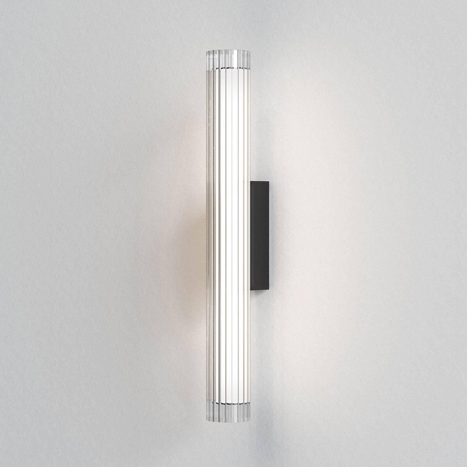 Astro io Wall LED-vegglampe IP44, svart, 66,5 cm