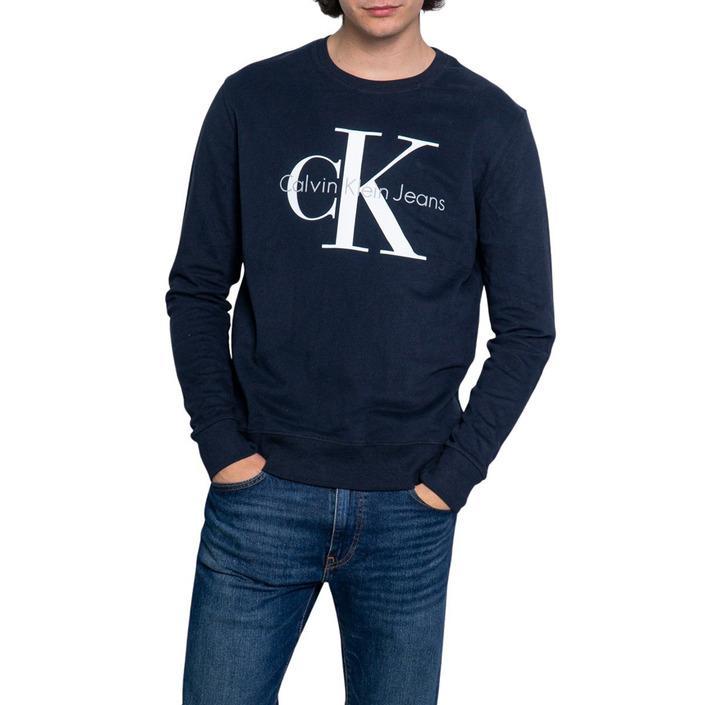 Calvin Klein Jeans Men's Sweatshirt Various Colours 188994 - blue M
