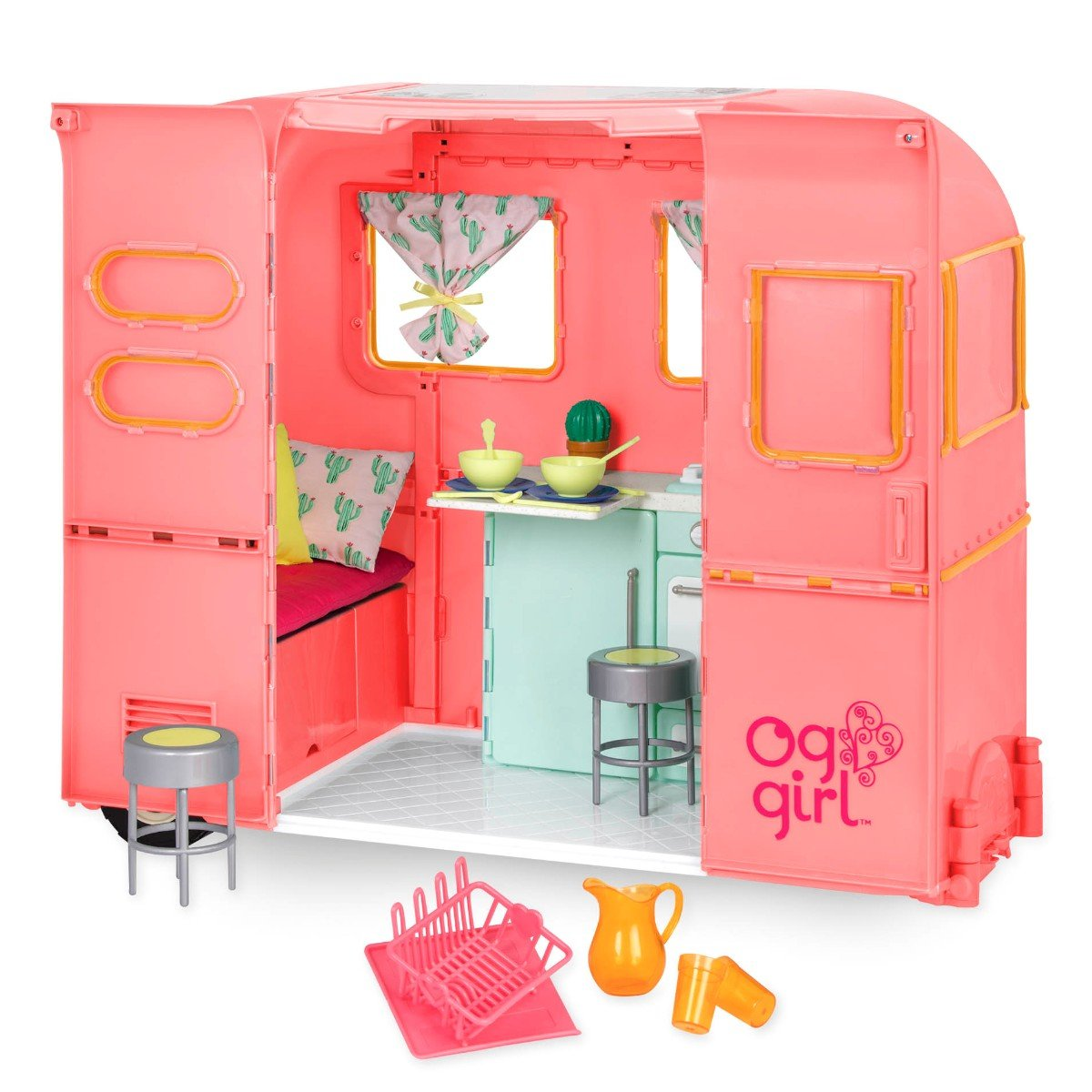 Our Generation - RV Seeing You Camper – Pink (737445)