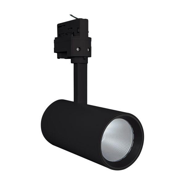 LEDVANCE Tracklight Spot Kohdevalaisin 25W, musta 3000K