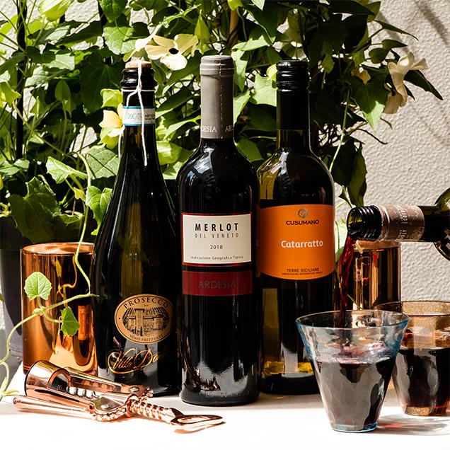 Trio of Italian Wine Gift Box