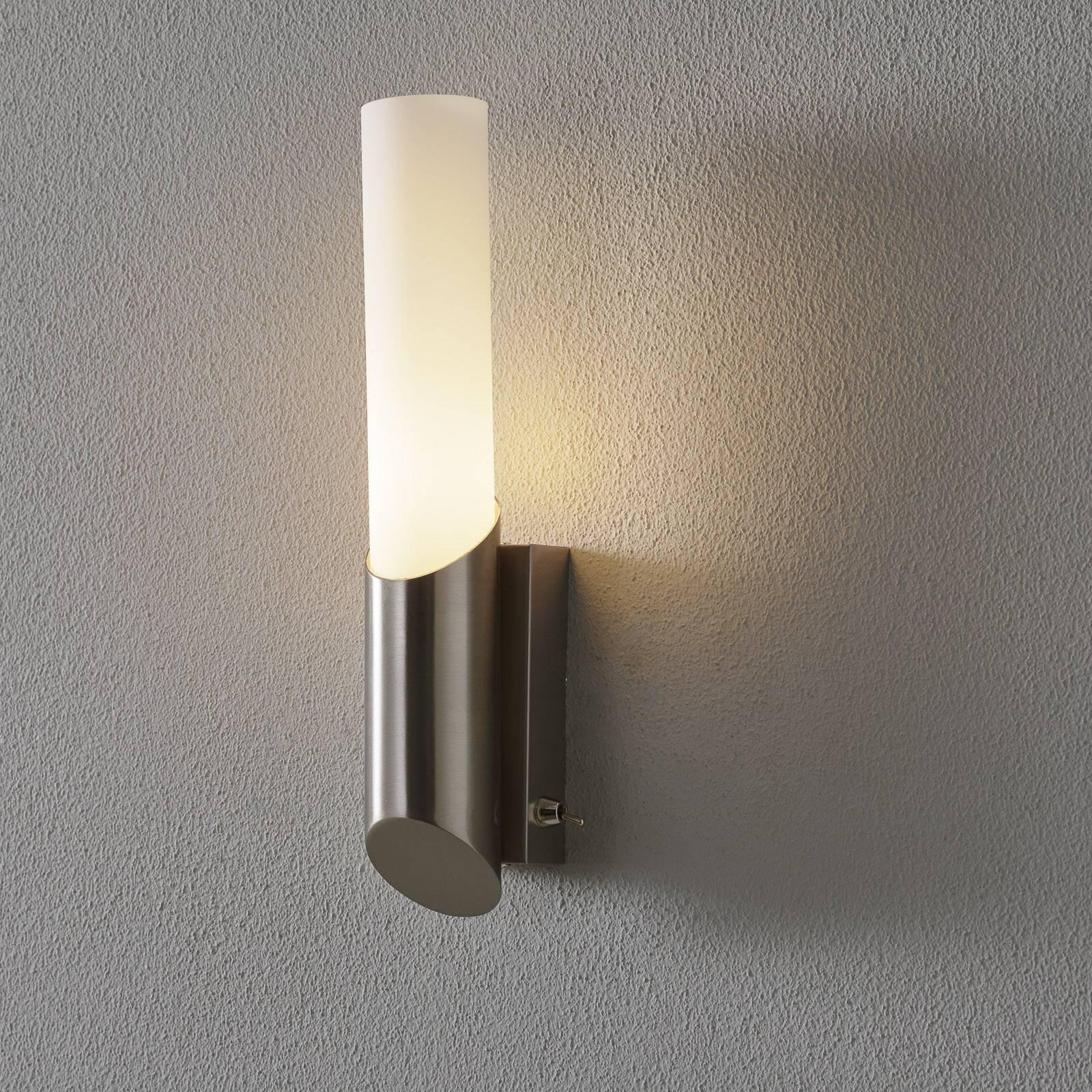 Moderne Hagen baderomslampe med bryter