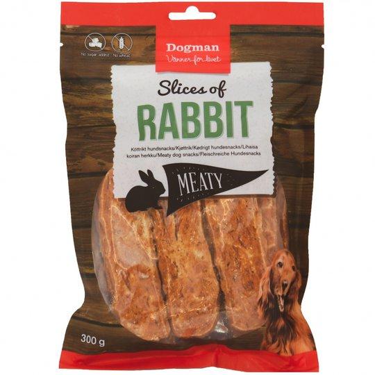 Dogman Slices of Rabbit (300 g)