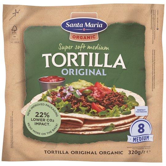Luomu Tortillaleivät Medium - 25% alennus