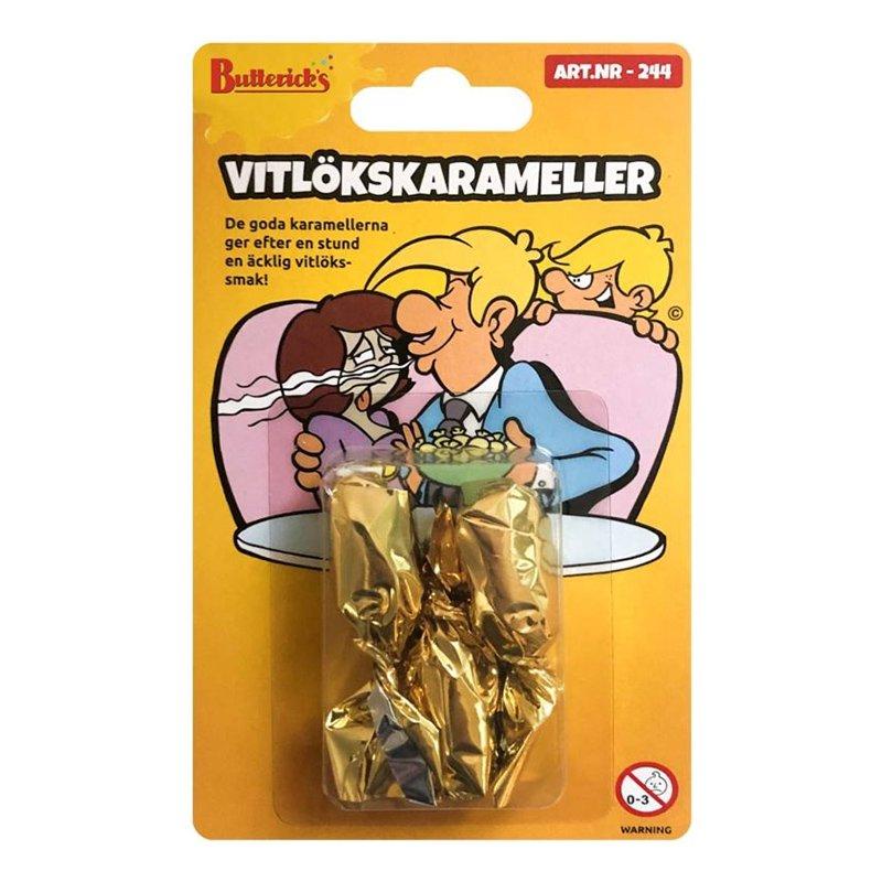 Vitlökskarameller - 3-pack
