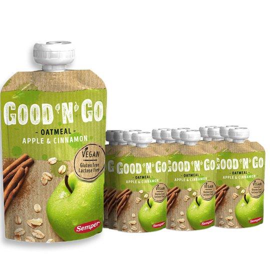 Hel låda Oatmeal Apple & Cinnamon 12-pack - 34% rabatt