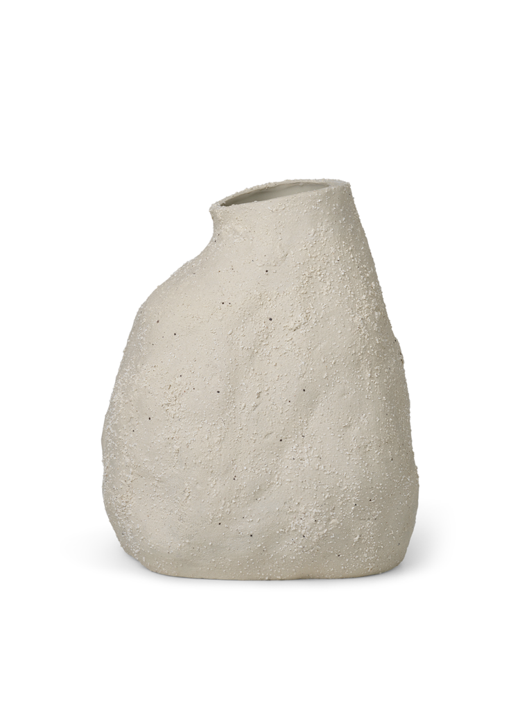 Ferm Living - Vulca Vase Medium - Off-White (1104172842)