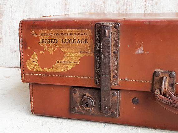 Vintage Suitcase Brown