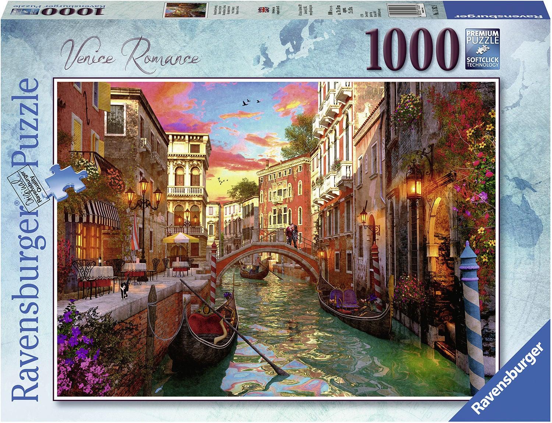 Ravensburger Pussel Venedig Romantik 1000 Bitar