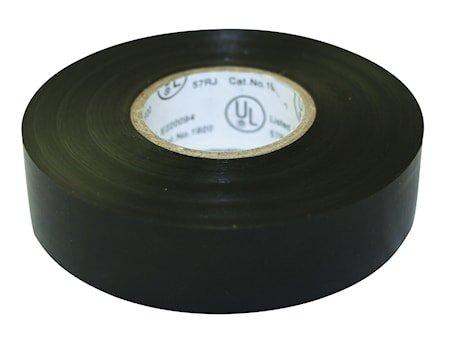 Elektrisk tape 20m Svart 19x0,13mm