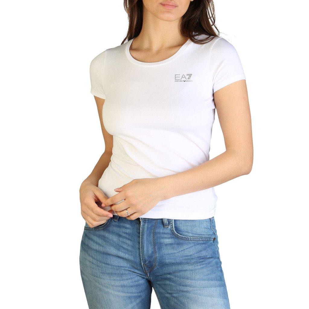 EA7 Women's T-Shirt Various Colours 7VTT01_TJ4FZ - white XXS
