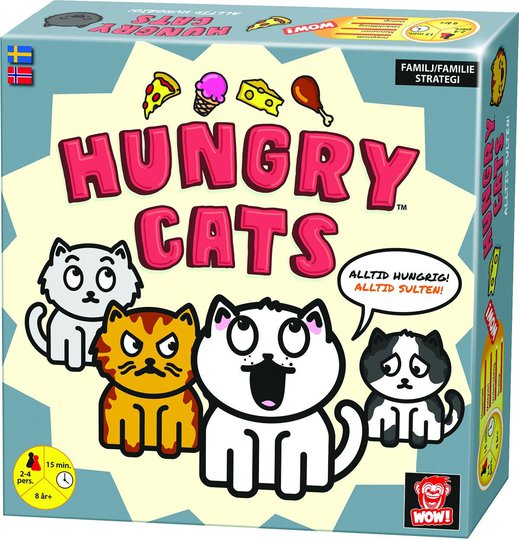 WOW Brettspill Hungry Cats