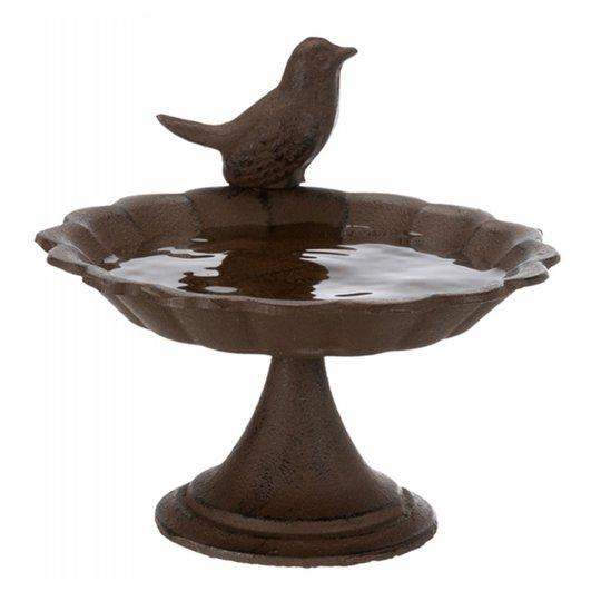 Stående Fågelbad Gjutjärn