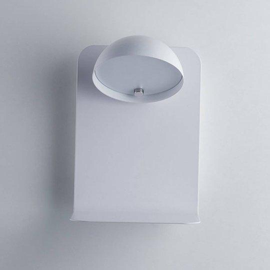 Boing LED-vegglampe, hvit