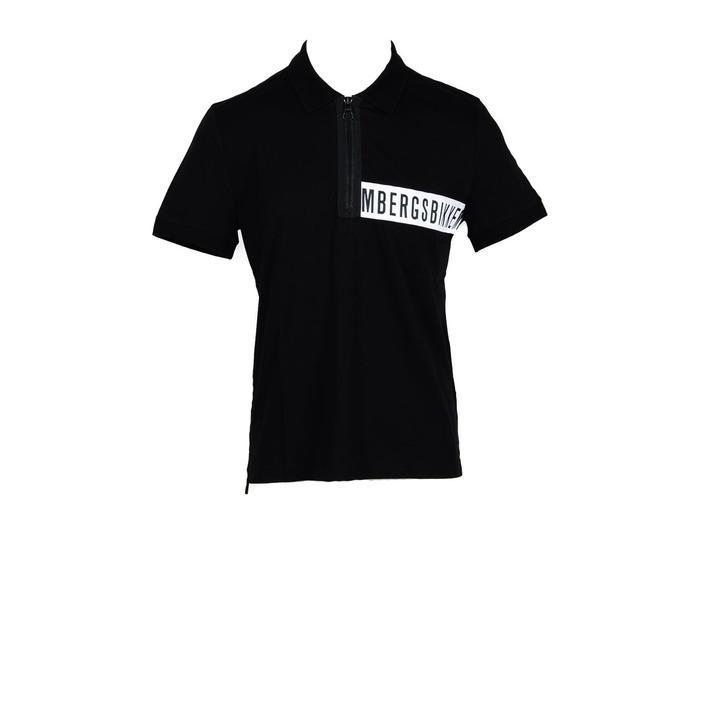 Bikkembergs Men's Polo Shirt Black 178409 - black M