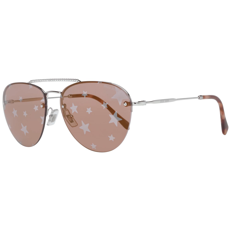 Miu Miu Women's Sunglasses Silver MU54US 1BC19559