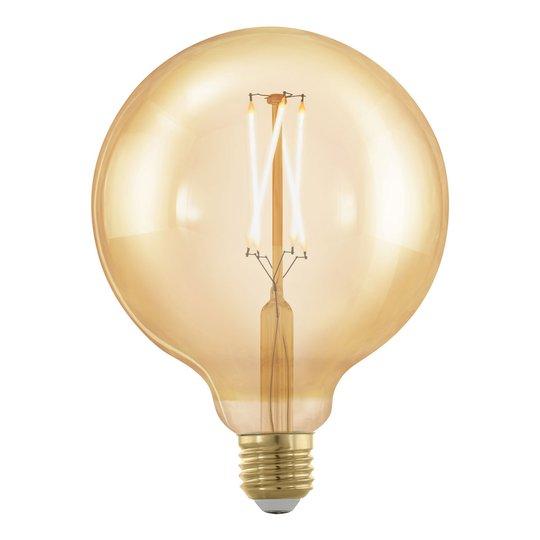 LED-globe-lamppu E27 G125 4W 1700K kulta himmennys