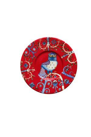 Taika fat til kaffekopp 15 cm rød