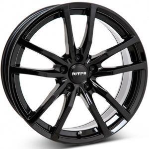 Nitro Sabre Gloss Black 7.5x17 5/108 ET45 B63.3