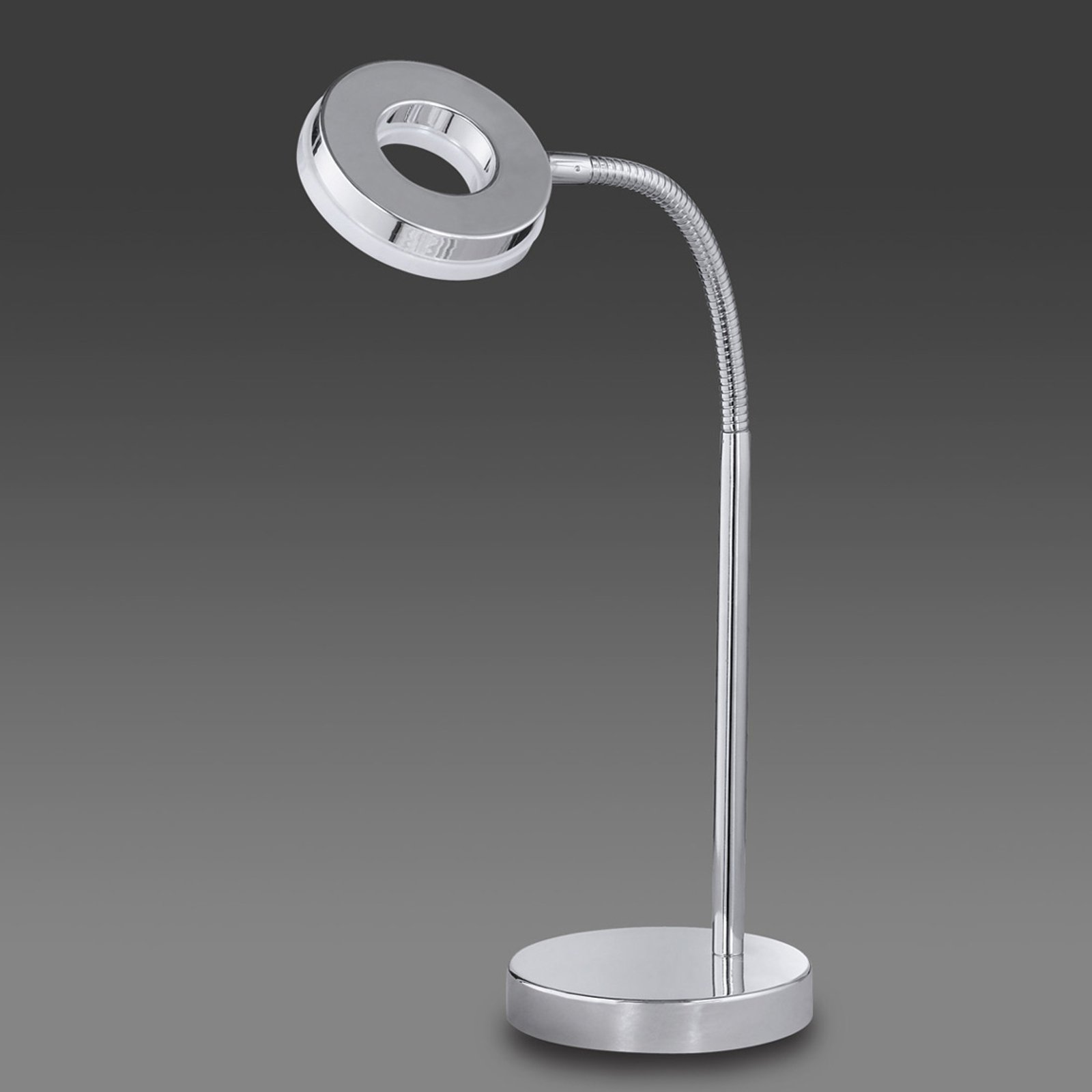 Forkrommet LED-bordlampe Rennes