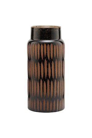 Vase Pimpri Svart/Brun 24 cm