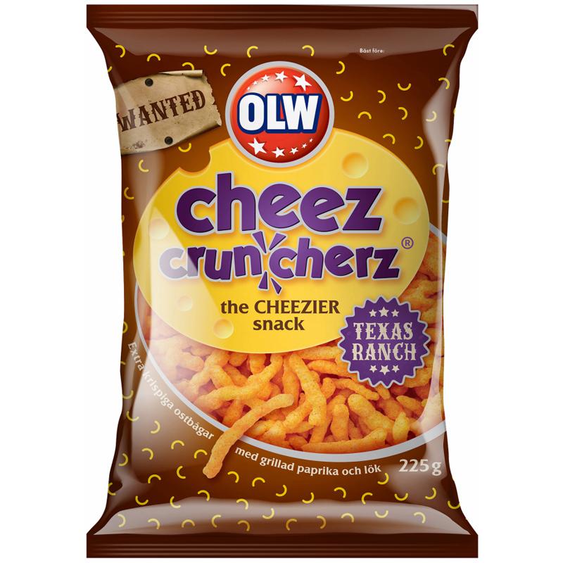Cheez Cruncherz Texas Ranch - 43% rabatt